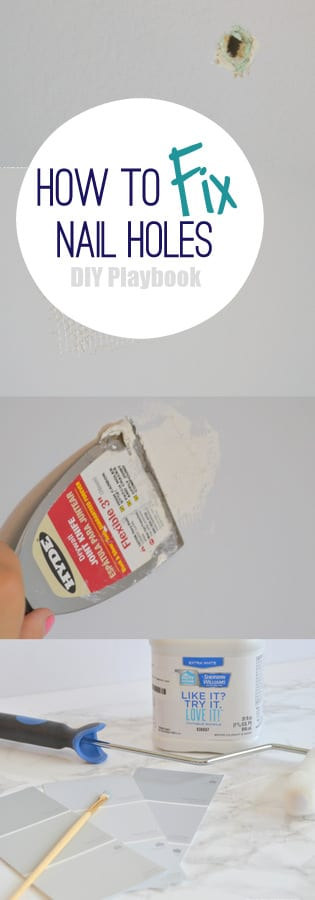 How To Fix Screw Holes In Wall : the easy diy way to fix nail holes in your home 39 s walls ~ Vivirlamusica.com Haus und Dekorationen