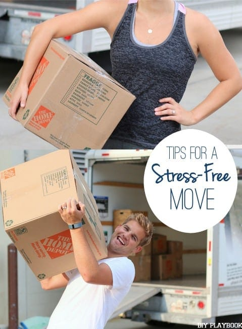 Use these tips for a stress-free move.