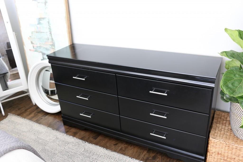 black dresser craigslist