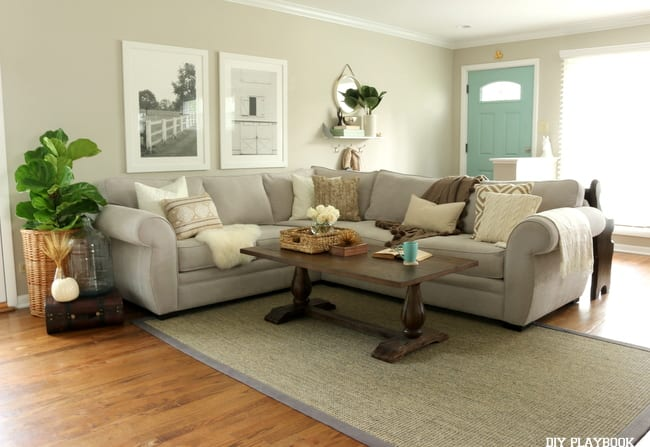 Fall Home Tour Family Room