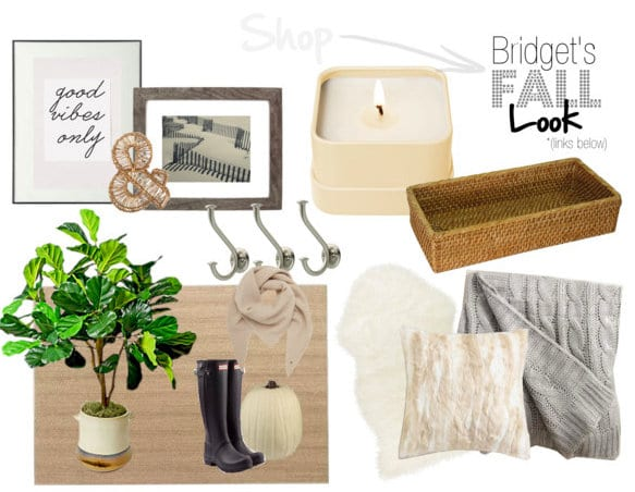Fall Home Tour Shop this Look Bridget's Family Room
