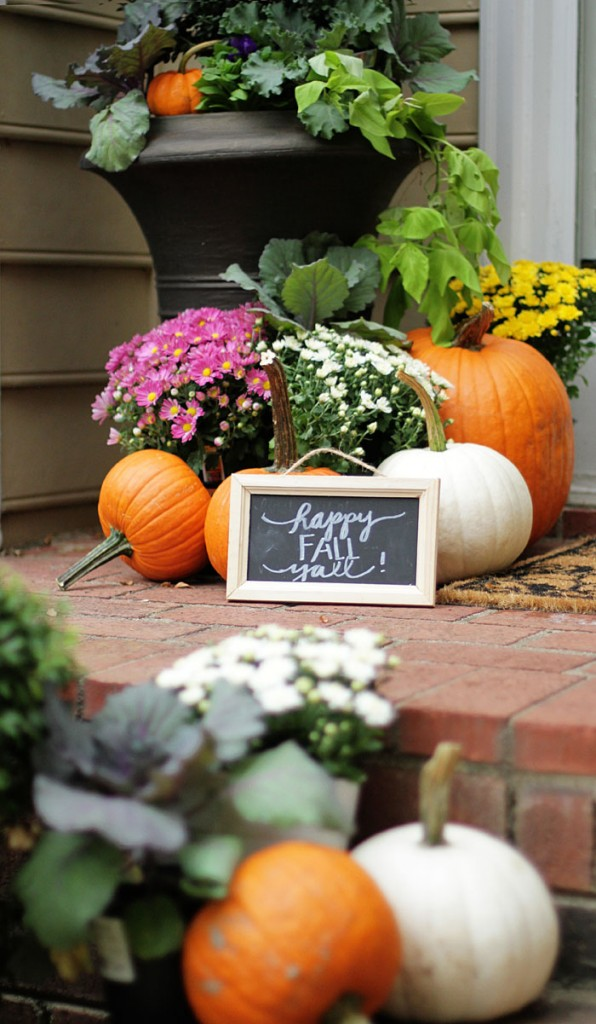 Style your Senses Fall Home tour