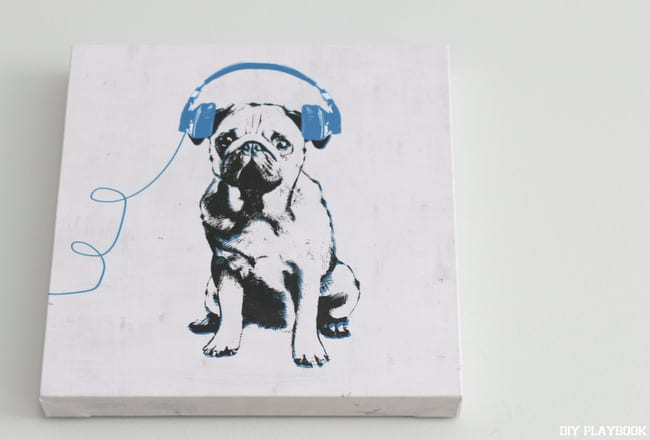 Z Gallerie-Art-Pug-Headphones-Ryan-Entry