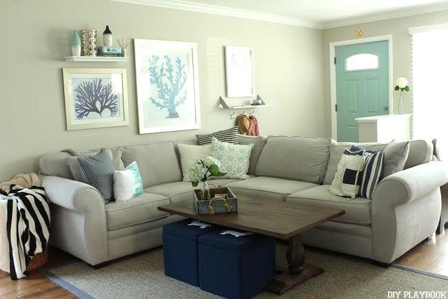 familyroom Bridget coral