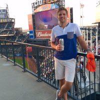 Finn really enjoyed spending time at the Mets stadium