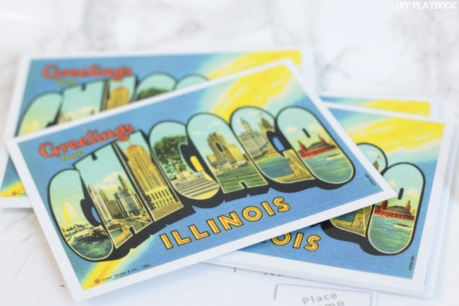 No envelopes needed when you use postcards for your new-home announcements!