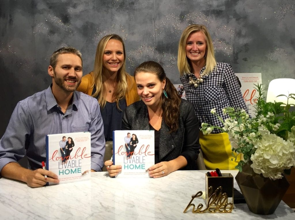 young-house-love-YHL-book-signing-casey-bridget-john-sherry