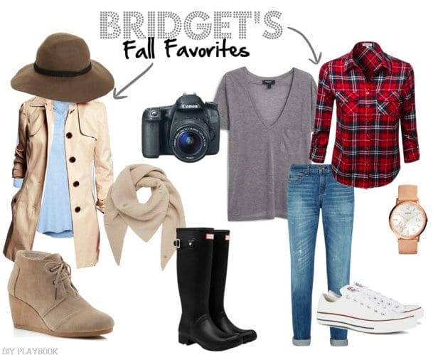 Bridget's fall fashion mood board