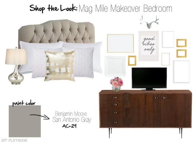 Shop the Look Mag Mile Makeover Mood Board