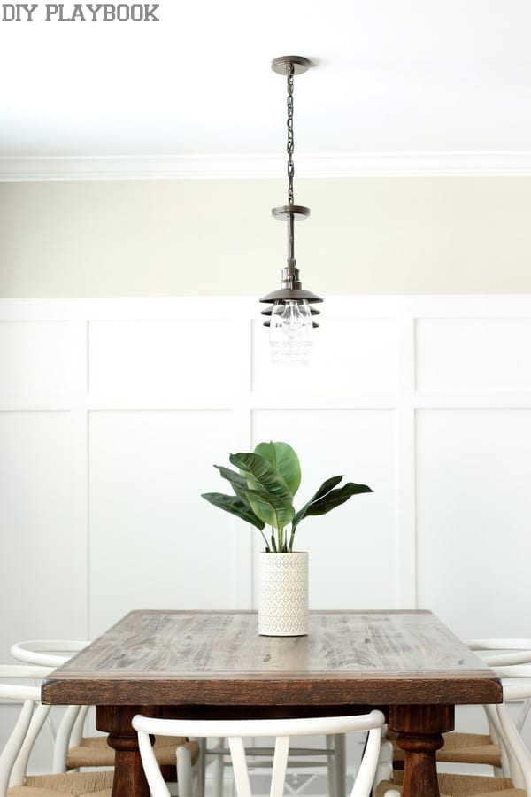 Dining Room Lamp Plant