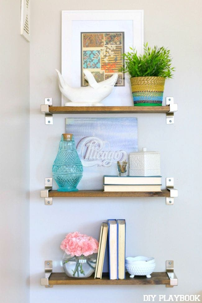 Ikea-Shelves-Styled