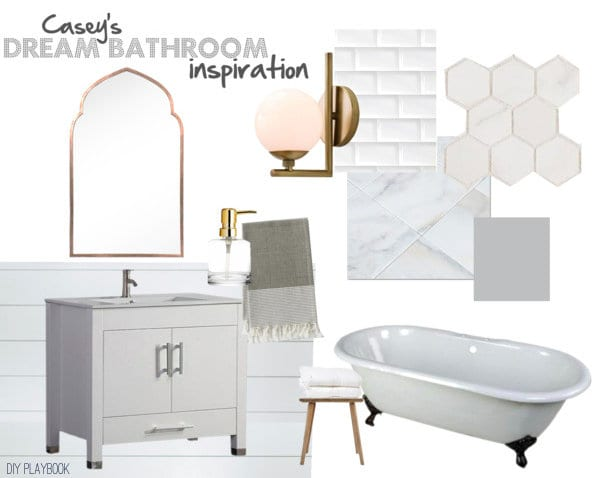 Casey's Dream Bathroom Plan