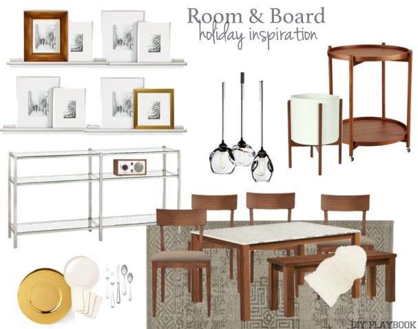Room and Board Mood Board
