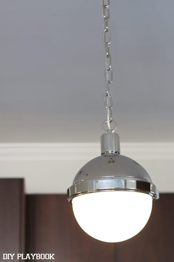 These pendants from Wayfair were just what our kitchen needed