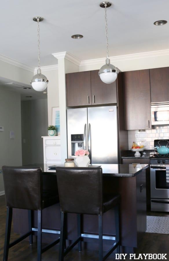Kitchen update- after