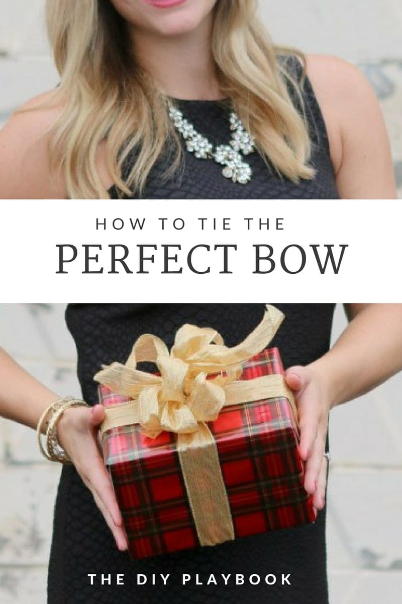 How to Tie the Perfect Bow For Gifts | DIY Playbook