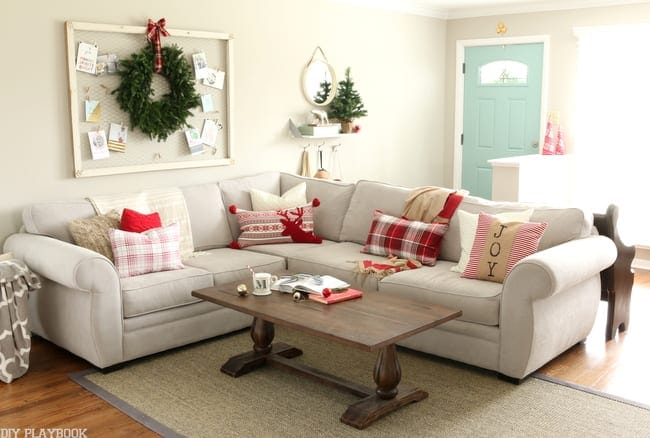 Be seasonal! How to Style Your Couch: Easy DIY Design | DIY Playbook