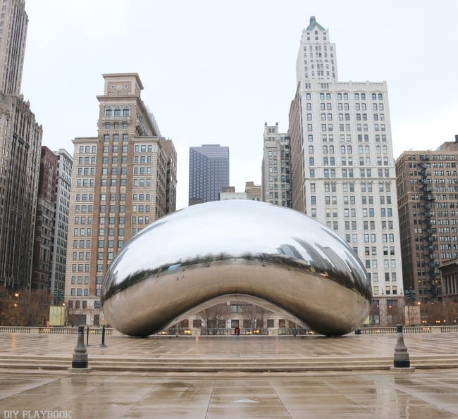 Chicago Bean Winter