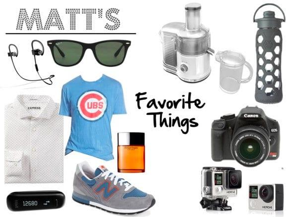 Matt's Favorite Things 2015