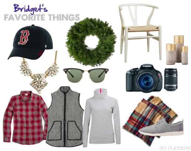 Bridget Favorite Things Mood Board