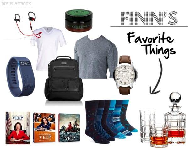 Finn's Favorite Things 2015