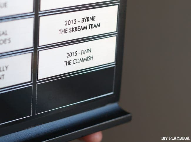 finn was the 2015 winner in his fantasy football league