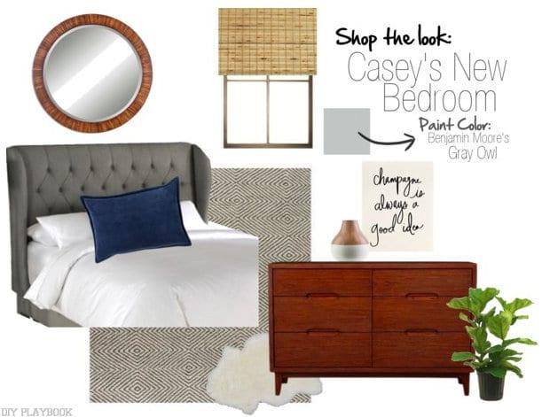 Casey's Master Bedroom Source List! Get the goods!