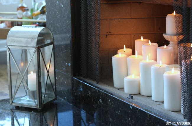 lantern-fireplace-candles