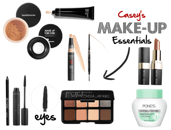 My everyday makeup essentials from mascara to makeup remover