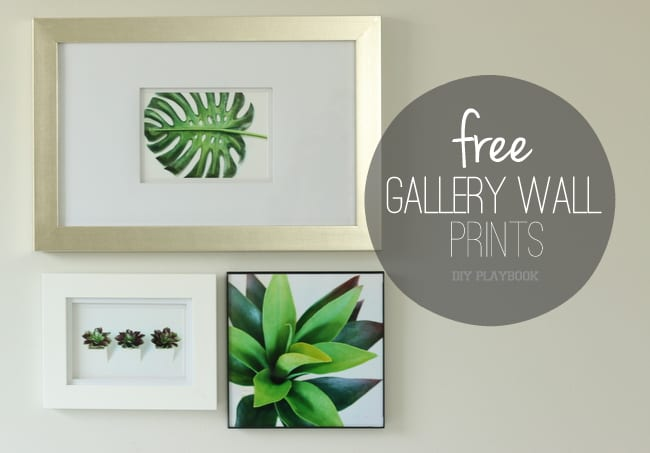 Gallery Wall Prints 3 free gallery wall prints - diy playbook