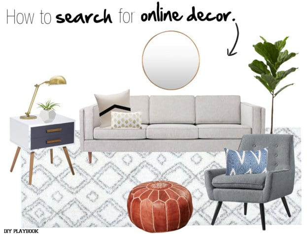 How to shop for online decor