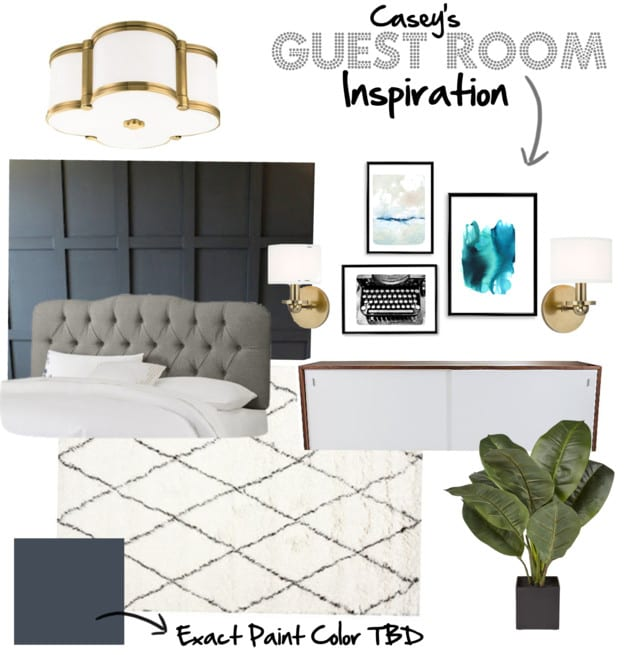 Casey's Guest Room Inspiration
