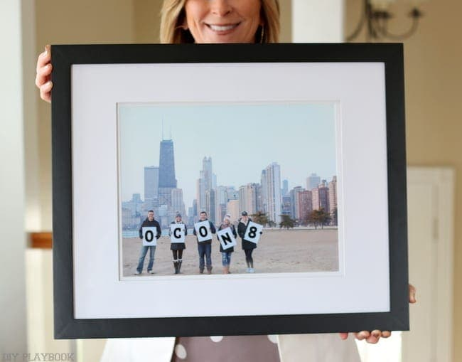 We love this personalized mother's day gift idea for the mom in your life.