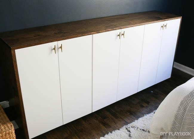 This easy fauxdenza bring storage and style