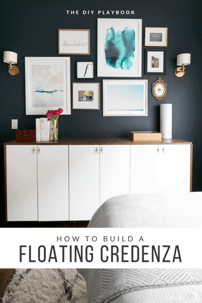 How To Build A Floating Credenza For Extra Storage