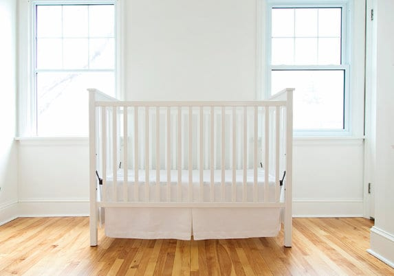 Step 3 of the first 5 steps to plan a nursery is to purchase or register for the big furniture!