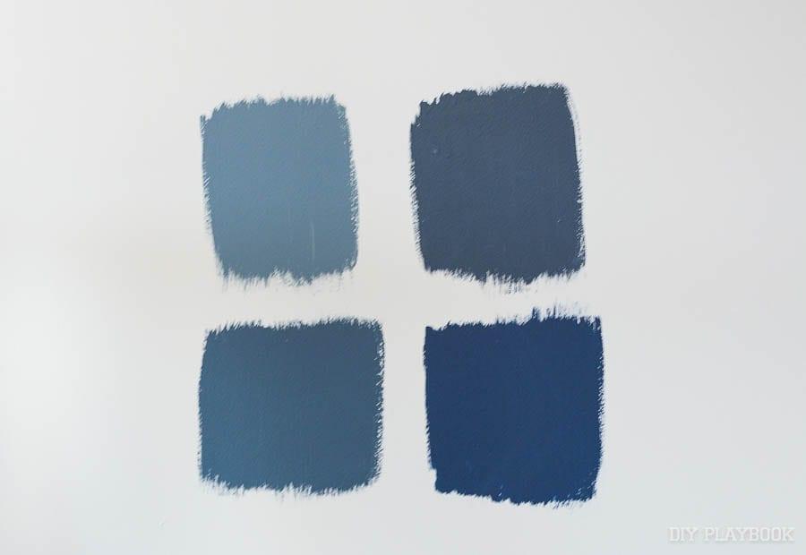 navy paint colors