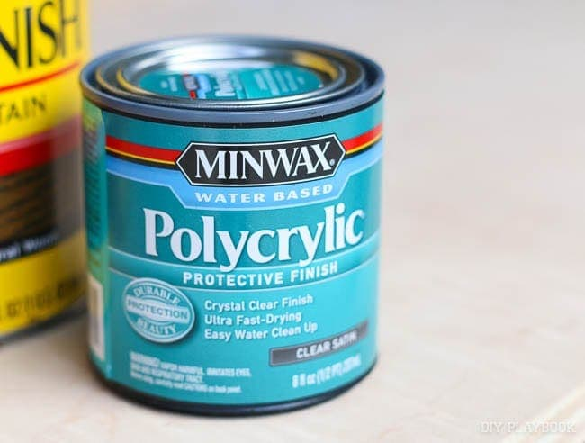 Minwax Polycrylic Finish
