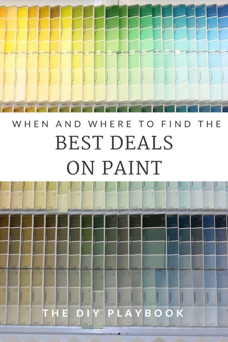 Best Deals on Paint