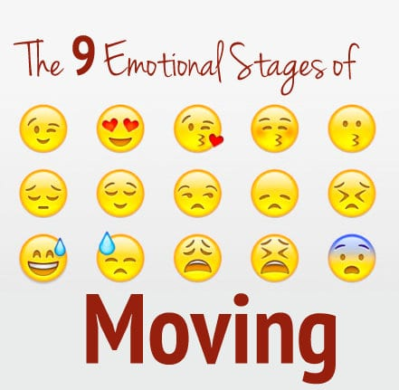Moving can be a very emotional time for everyone.