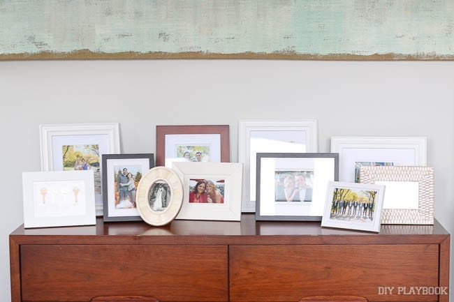The Right Way to Create a Picture Frame Display | The DIY Playbook