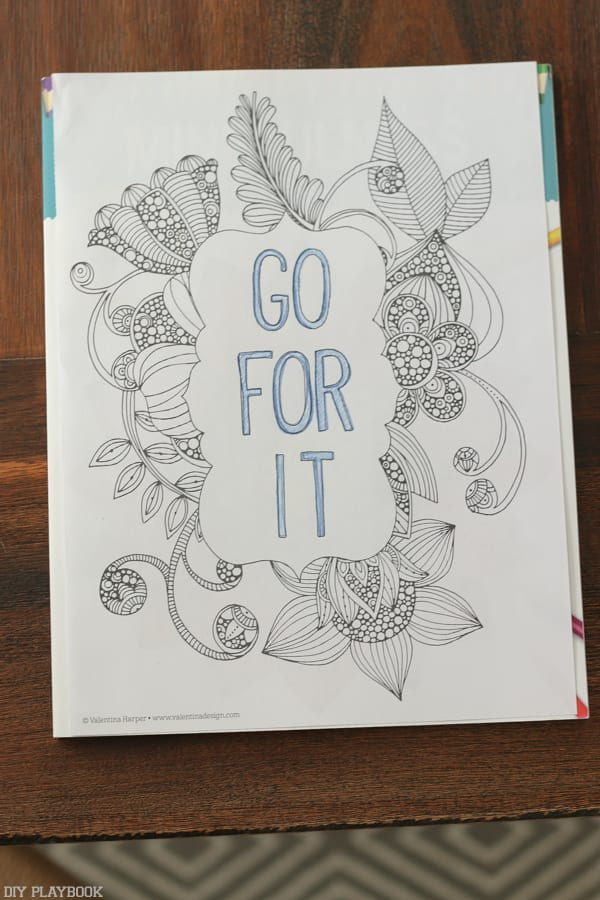 So We Signed Up To Attend A FREE Coloring Class At Michaels They Have Tons Of Awesome Classes And Vowed That Would Go In With An Open Mind