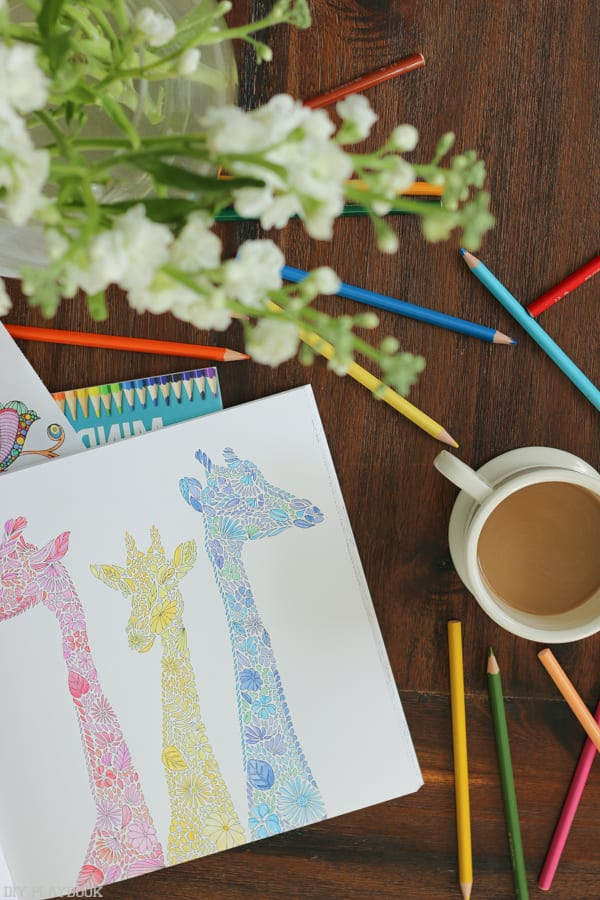 have you tried adult coloring books? It's a fun way to destress and feel like a kid again