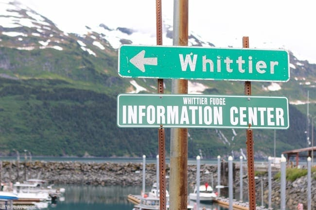 Pay close attention to signs as you explore Alaska.