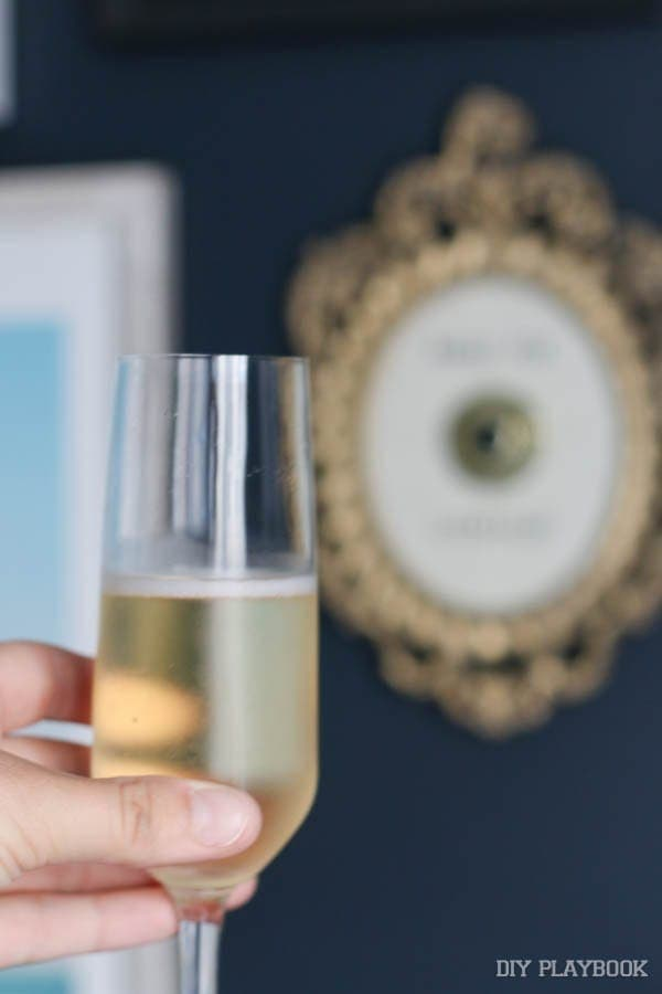 Cheers! Champagne Themed Decor   DIY Playbook