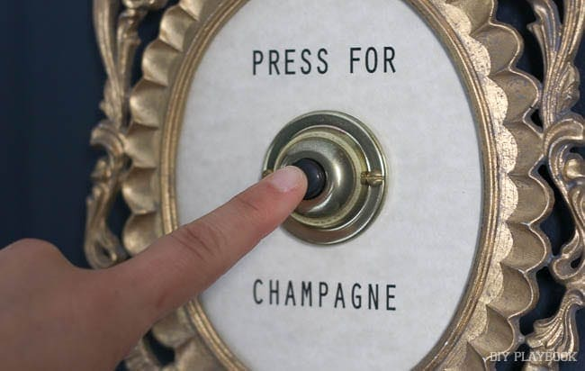 Press for Champagne: Champagne Themed Decor | DIY Playbook