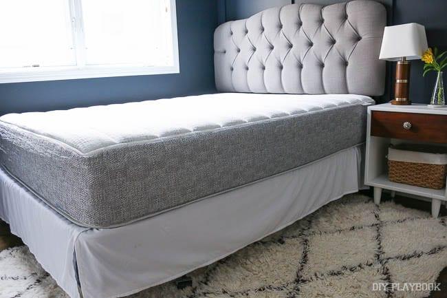 new mattress. newmattressguestroom new mattress