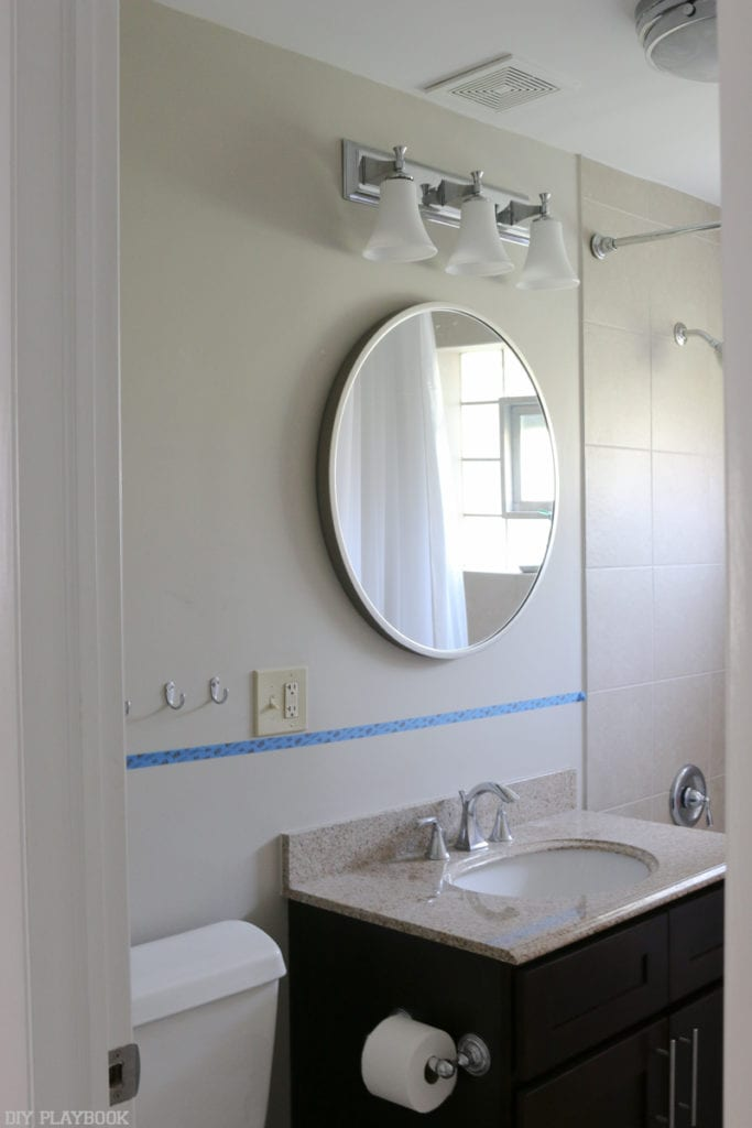 Bathroom Vanity Lighting Inspiration and Shiplap | DIY Playbook