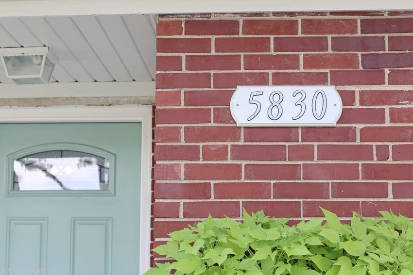This address block is ready for an update