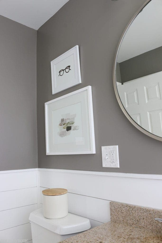 Diy Shiplap Bathroom Reveal And Full Source List Diy